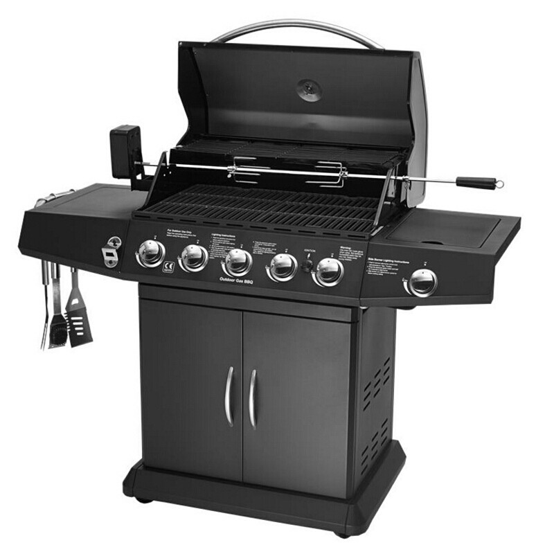 家用別墅燃氣木炭兩用燒烤爐大型烤爐大號戶外燒烤設備
