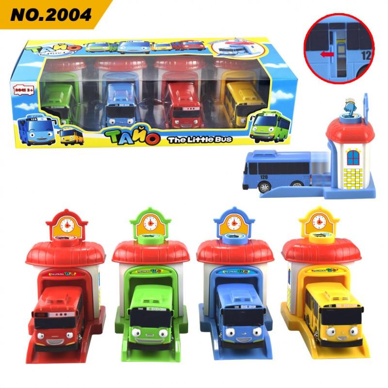 促销韩国泰路tayo巴士动漫可爱回力小汽车太友小公交车儿童卡通玩具车图片