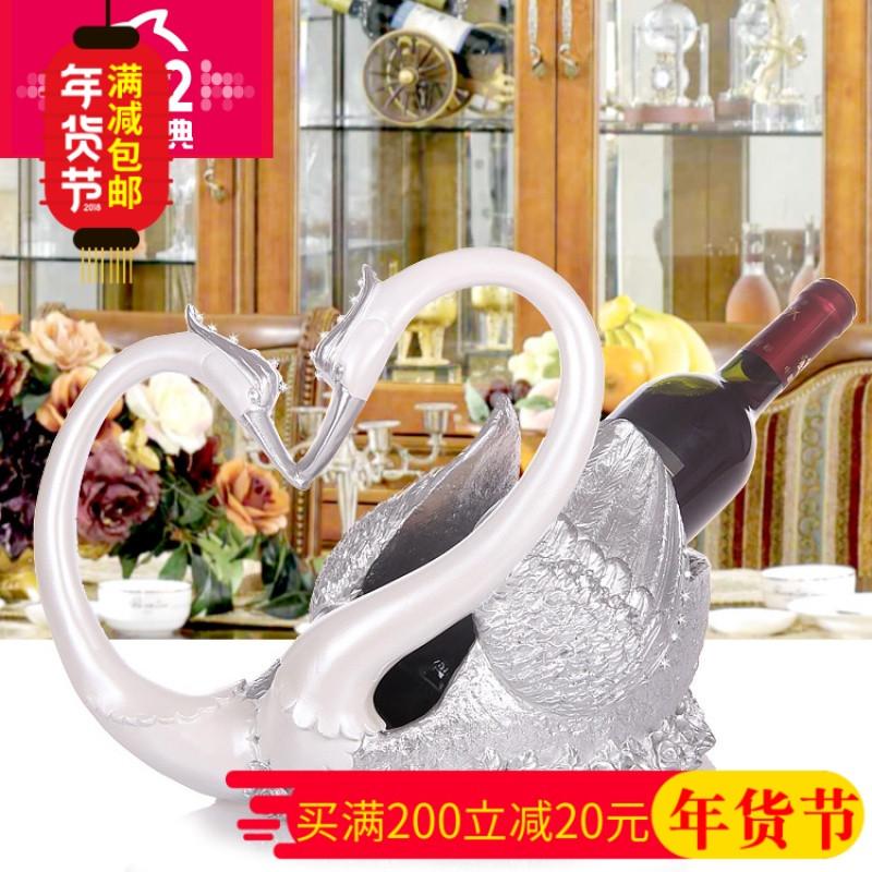 创意艺术不锈钢架摆件欧式餐厅红酒架子红酒杯架摆件酒架