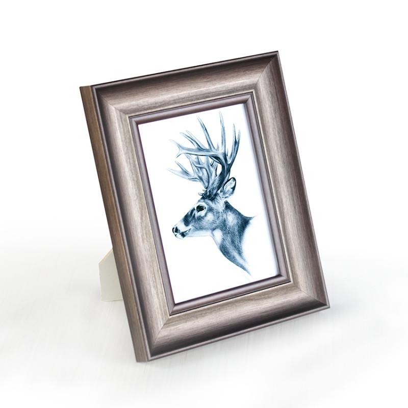 欧式复古相框摆台6寸7寸8寸12寸简约创意挂墙洗照片冲印加相框图片