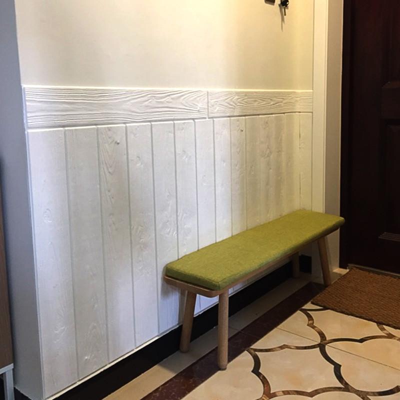 3d立体墙贴防撞泡沫木纹木板墙面装饰贴纸电视背景墙防水自粘墙纸