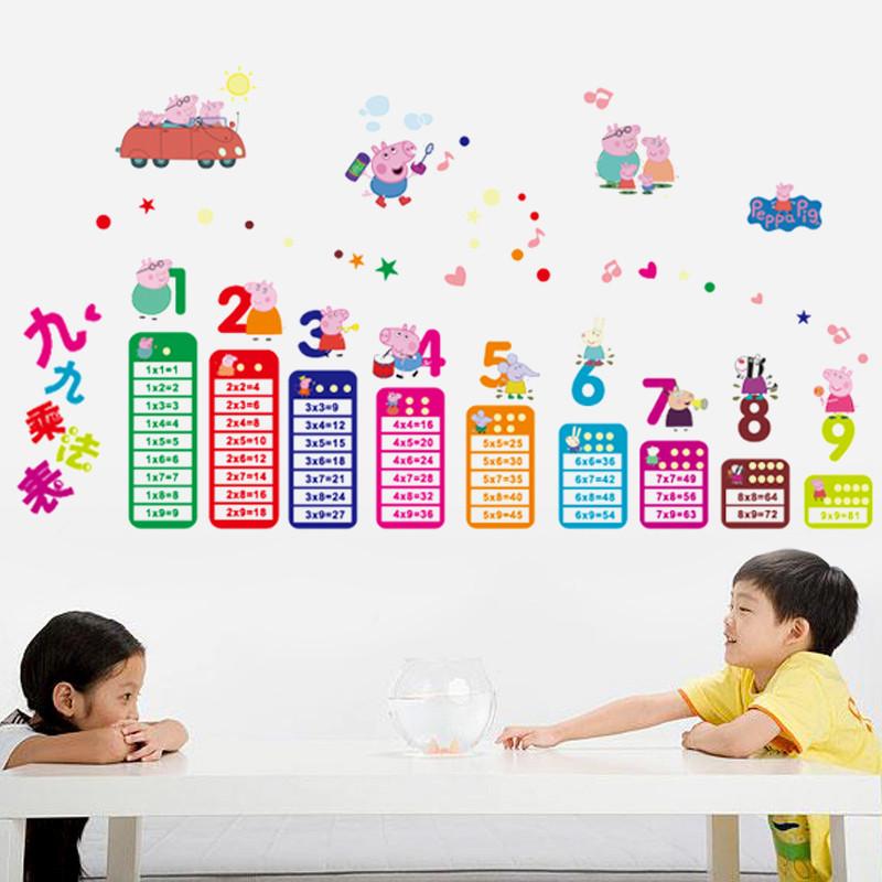 防水pvc墙贴墙纸幼儿园儿童房卧室卡通墙面卡通装饰贴画