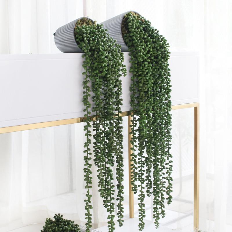 家居 仿真垂吊绿色植物 垂挂绿植盆景 办公室室内装饰