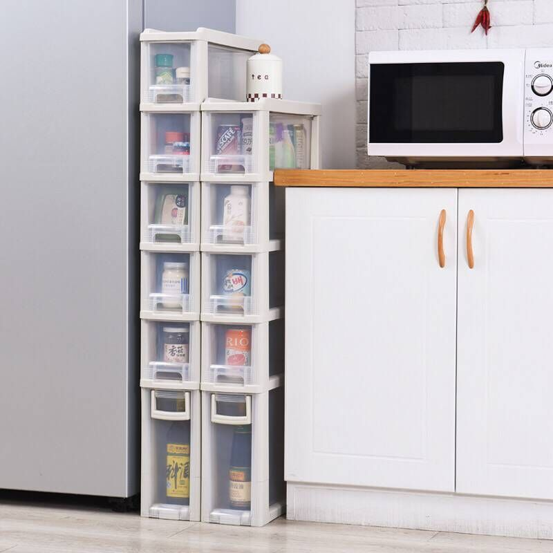 15厘米宽卫生间夹缝收纳柜浴室置物架厨房客厅整理储物柜窄边柜子
