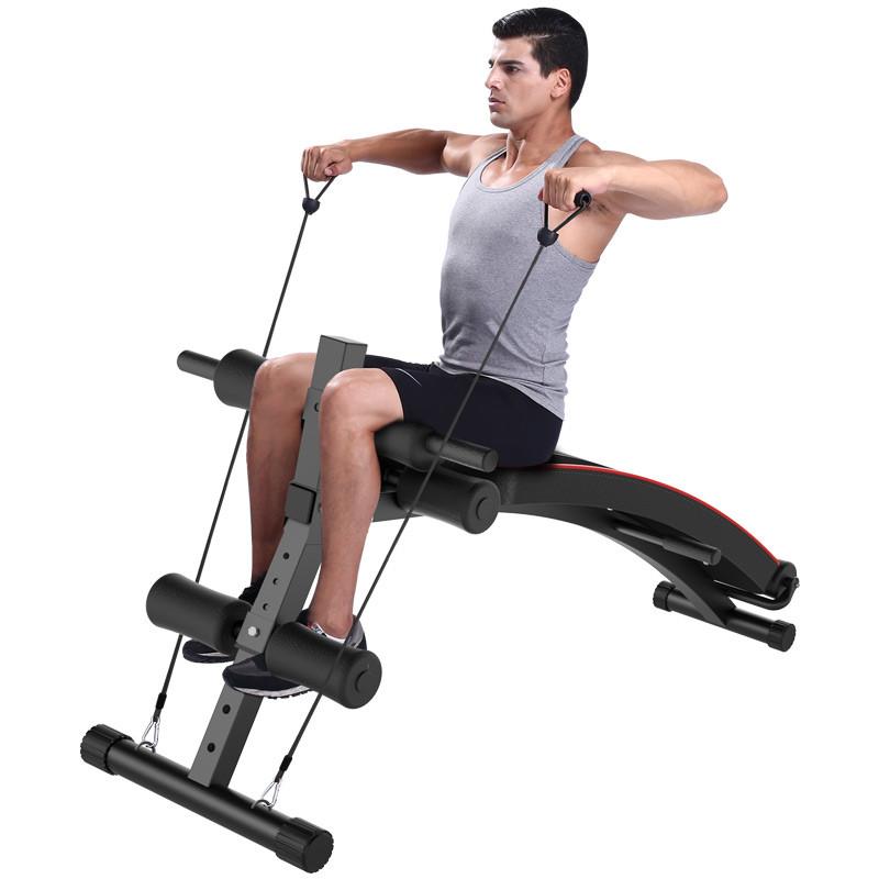 家庭健身器材_仰卧板仰卧起坐健身器材家用腹肌运动锻炼器材男仰卧起坐板