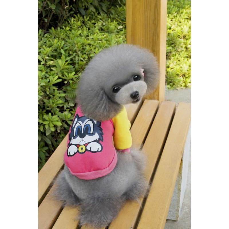 宠物狗衣服宠物服装秋冬卫宠物q版卫衣泰迪衣服