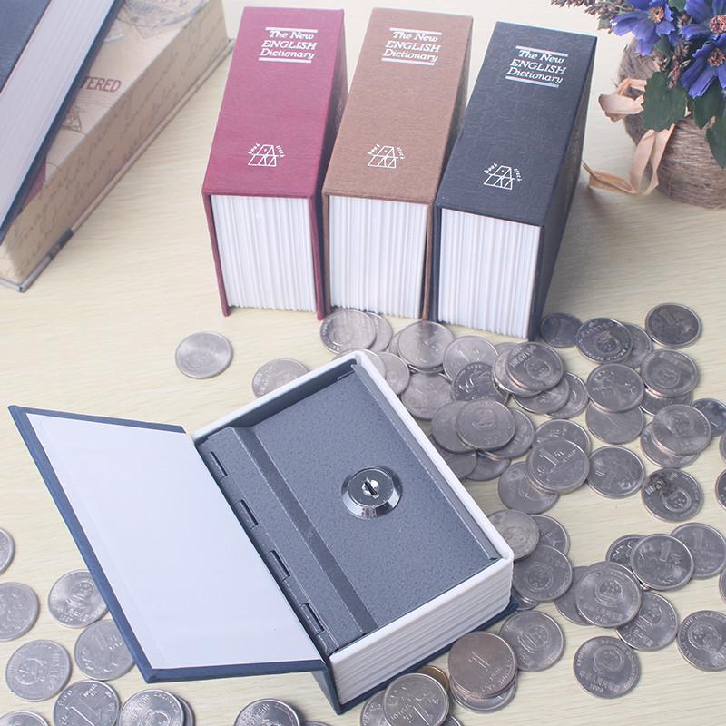 锁住的小箱子_书本保险箱存钱罐储蓄储钱箱子密码小铁盒子带锁的收纳盒储物儿童