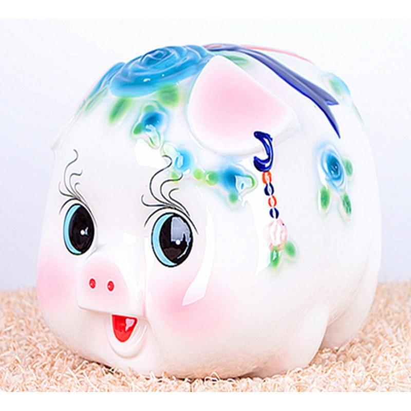 招财猪大号储蓄罐 可爱儿童礼品零钱罐男女礼品猪存钱