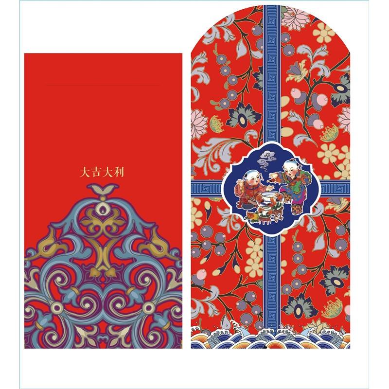 2018复古中式 年画红包 创意利是封 婚庆喜庆红包 36个图片