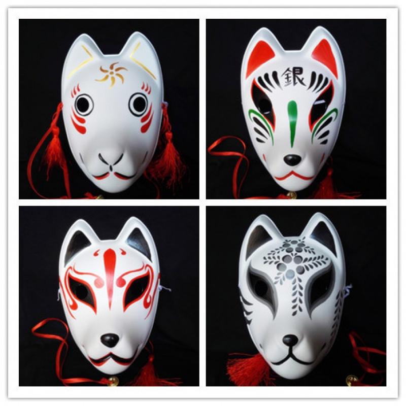 狐狸面具 萤火之森 阿银/金 狐狸面具 和服 日式cos