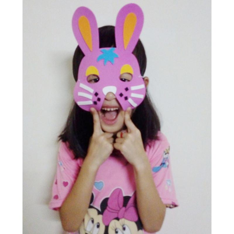 儿童节幼儿园面具玩具礼品小朋友面具蜜蜂动物兔子手工v面具白海豚大酒店怎么样图片