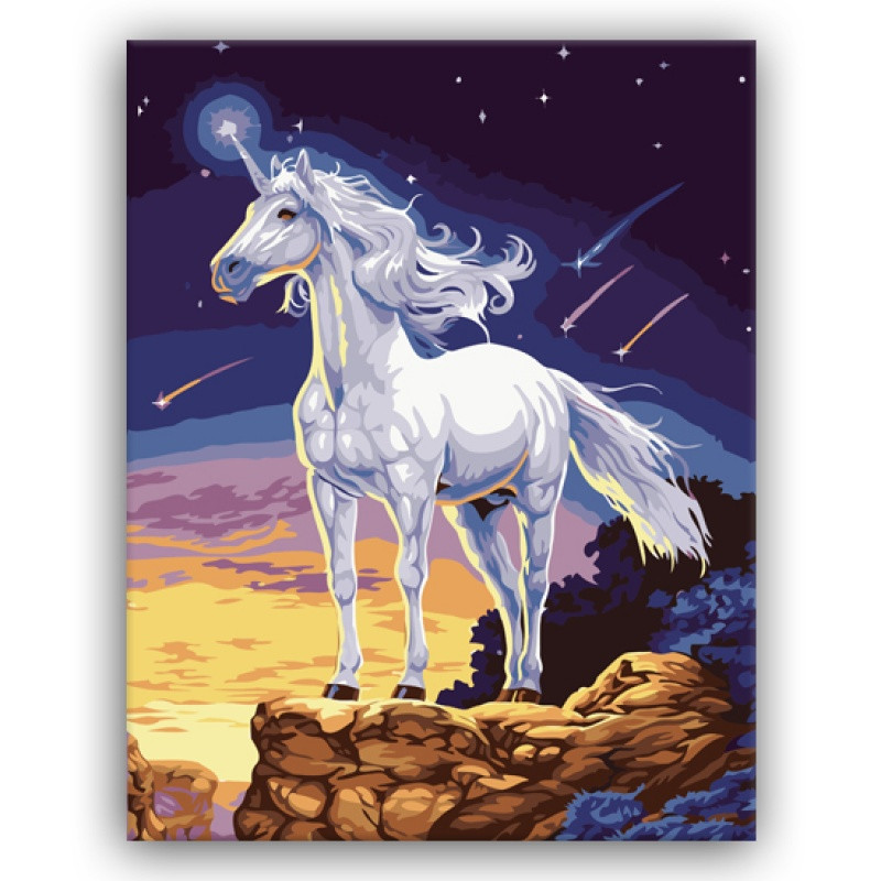招财大幅diy数字油画动物马风景万马奔腾客厅八骏图装饰画马