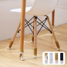 24个猫咪椅子脚套静音加厚针织餐桌椅腿套凳子脚套垫椅子腿保护套图片