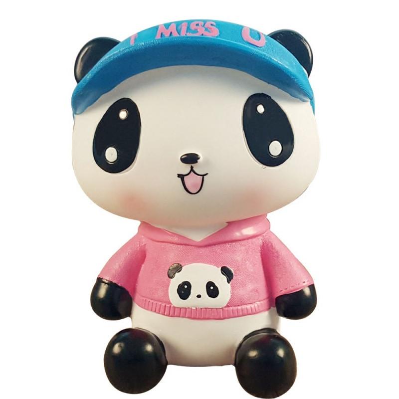 大号可爱熊猫存钱罐韩国创意防摔儿童储蓄罐男女孩储钱罐摆件礼物
