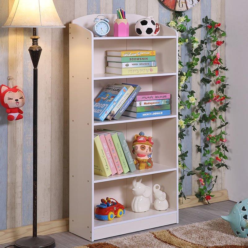 新品儿童书柜书架环保自由组合书柜简易书架小学生书橱储物柜