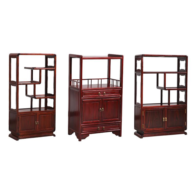 茶水柜餐边柜酸枝木客厅茶柜 中式茶水柜红木明清古典