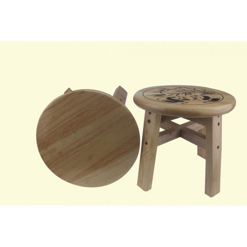 23 25 30 35cm高实木小圆凳子小木凳子浴室板凳矮凳子