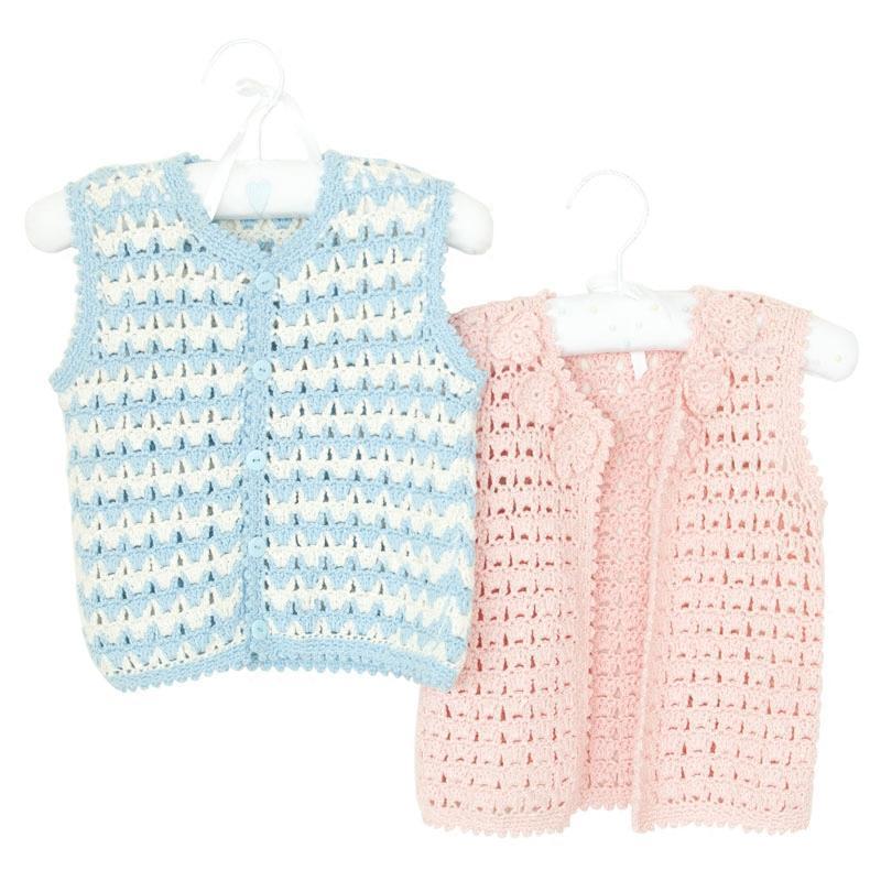 婴儿宝宝毛衣毛线编织 儿童马甲衣服diy手工视频教程材料包
