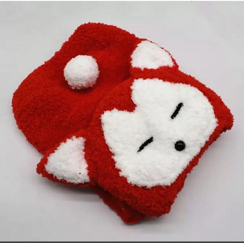 宝宝毛线卡通马甲编织材料包珊瑚绒毛线手工diy编织教程视频