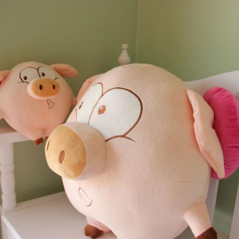 飞天猪 猪宝宝毛绒玩具 猪公仔 抱枕可爱布娃娃 送女孩礼物