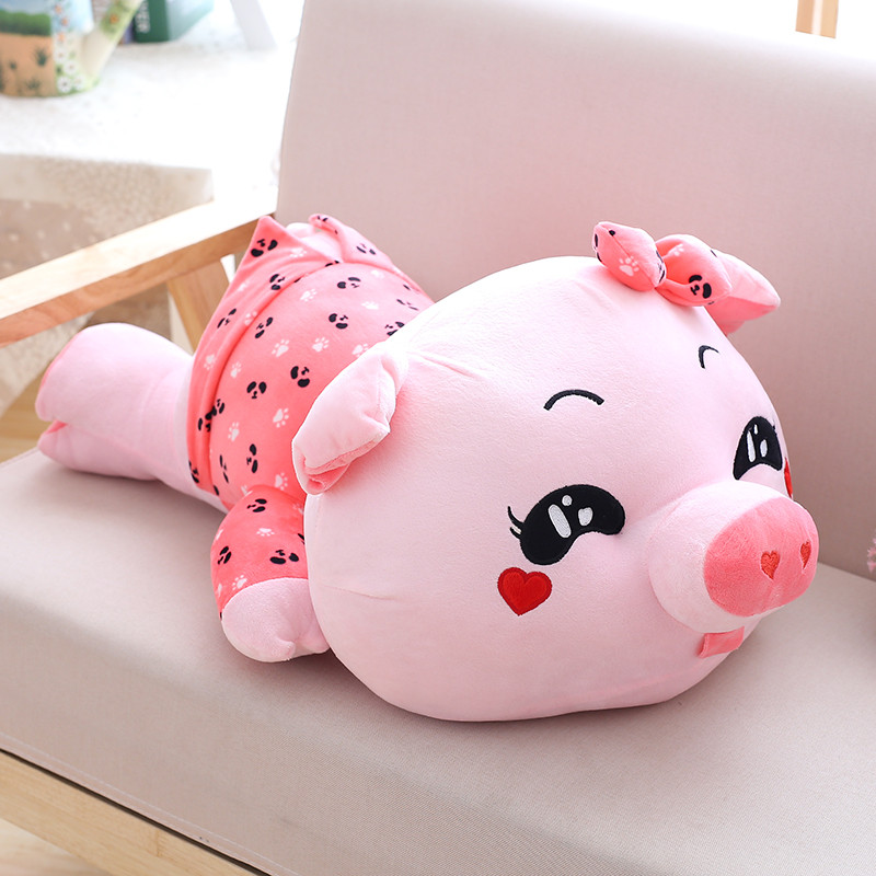 情侣猪趴猪公仔布娃娃可爱猪猪卡通小猪抱枕女生儿童礼物毛绒玩具