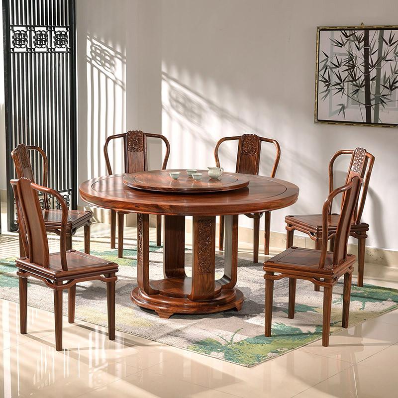 中式园餐桌图片价格 图片合集