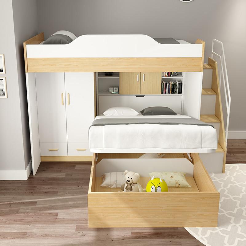 两层儿童下铺床情趣多功宾馆床v儿童衣柜双层床1.5米粉嫩胖微女成人乳狂草爆床上图片