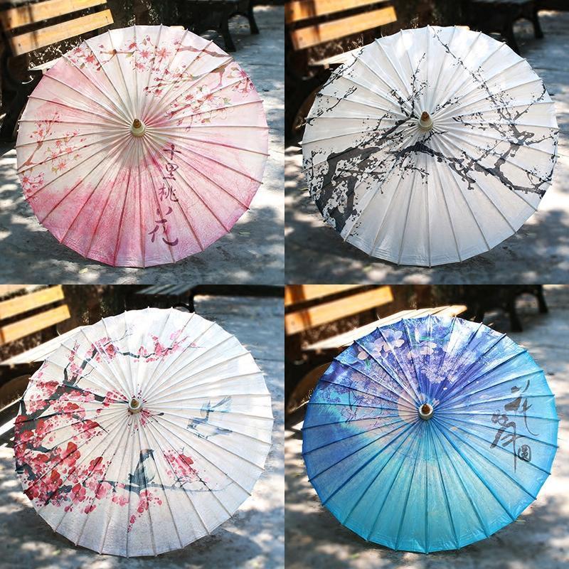 油纸伞满穿江南古典防雨遮阳实用传统中国风道具舞蹈演出伞