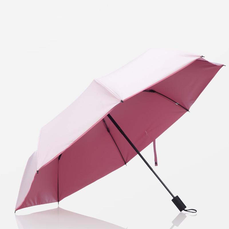 雨伞女生小清新女神晴雨两用伞折叠韩版防晒防紫外线太阳伞