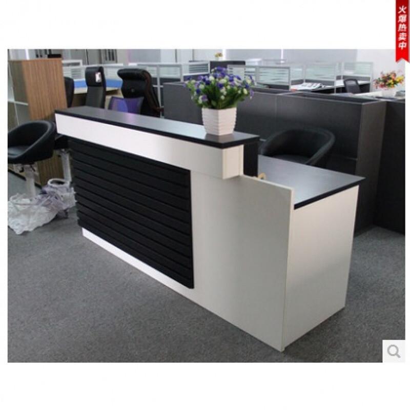 前台接待台公司迎宾台收银台咨询台前台办公桌柜台
