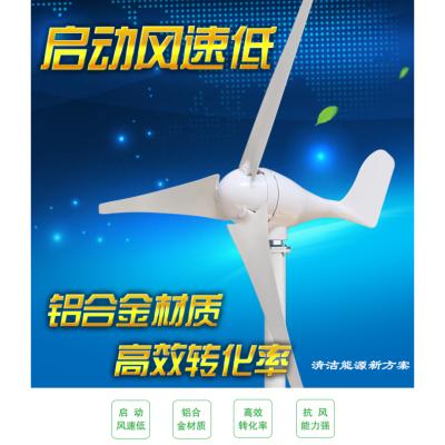 BONJEAN小型垂直軸風力發電機太陽能路燈風光互補家用1002001224 殼體裝飾展示