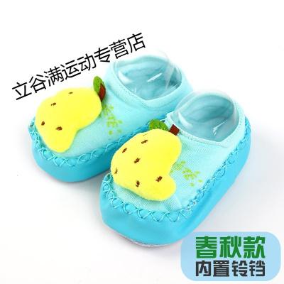 嬰兒學步襪子夏短筒地板鞋襪防滑軟底寶寶點膠薄款襪子0-3-6個月1