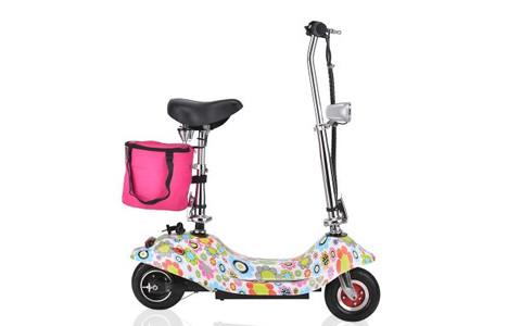 小海豚电动滑板车 迷你折叠车 都市小巧女士电动车酷骑街车代步车电瓶