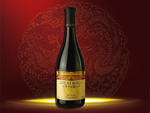 华夏长城橡木桶佳酿干红葡萄酒