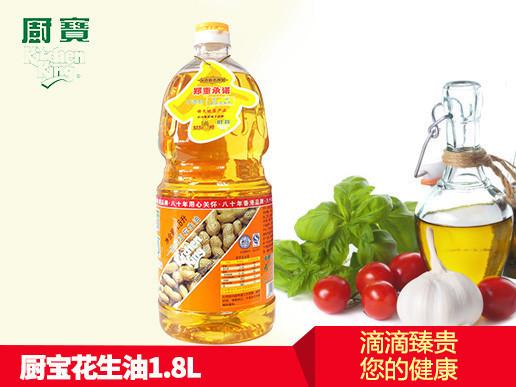 厨宝 花生油 1.8l/瓶