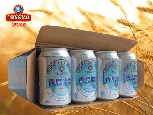 青岛啤酒 (银罐)(7度)330ml*24罐