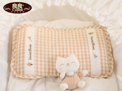 良良枕头哪欹io_良良 婴儿枕 0-9个月初生儿宝宝护型枕头 新生儿防偏头枕宝宝枕定型枕
