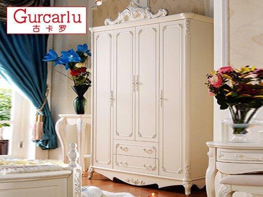古卡罗欧式雕花衣柜