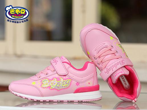 女童运动鞋2016秋季新款女童鞋可爱公主