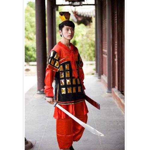 盔甲戏曲表演服装花木兰
