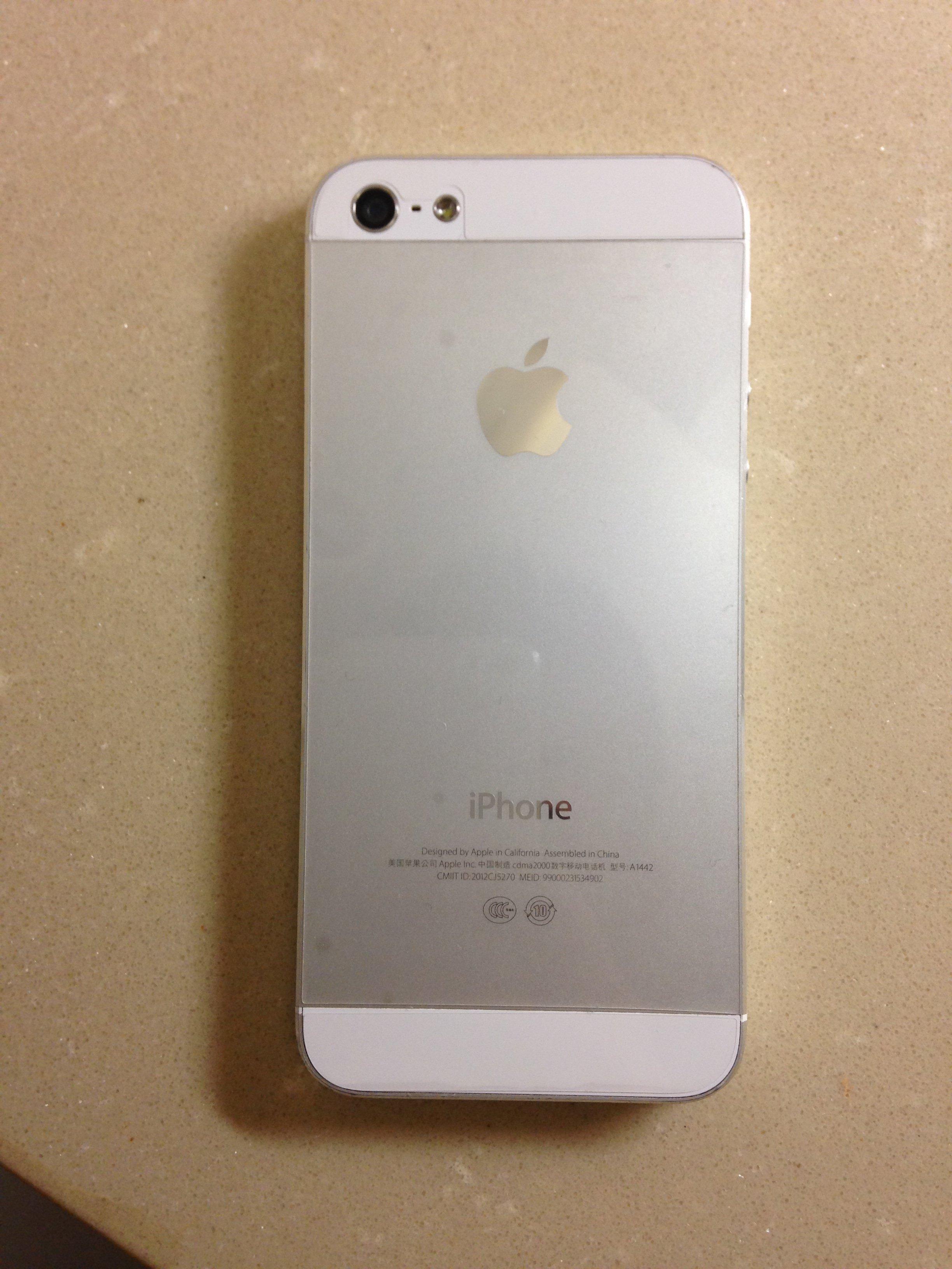 苹果5_电信苹果5