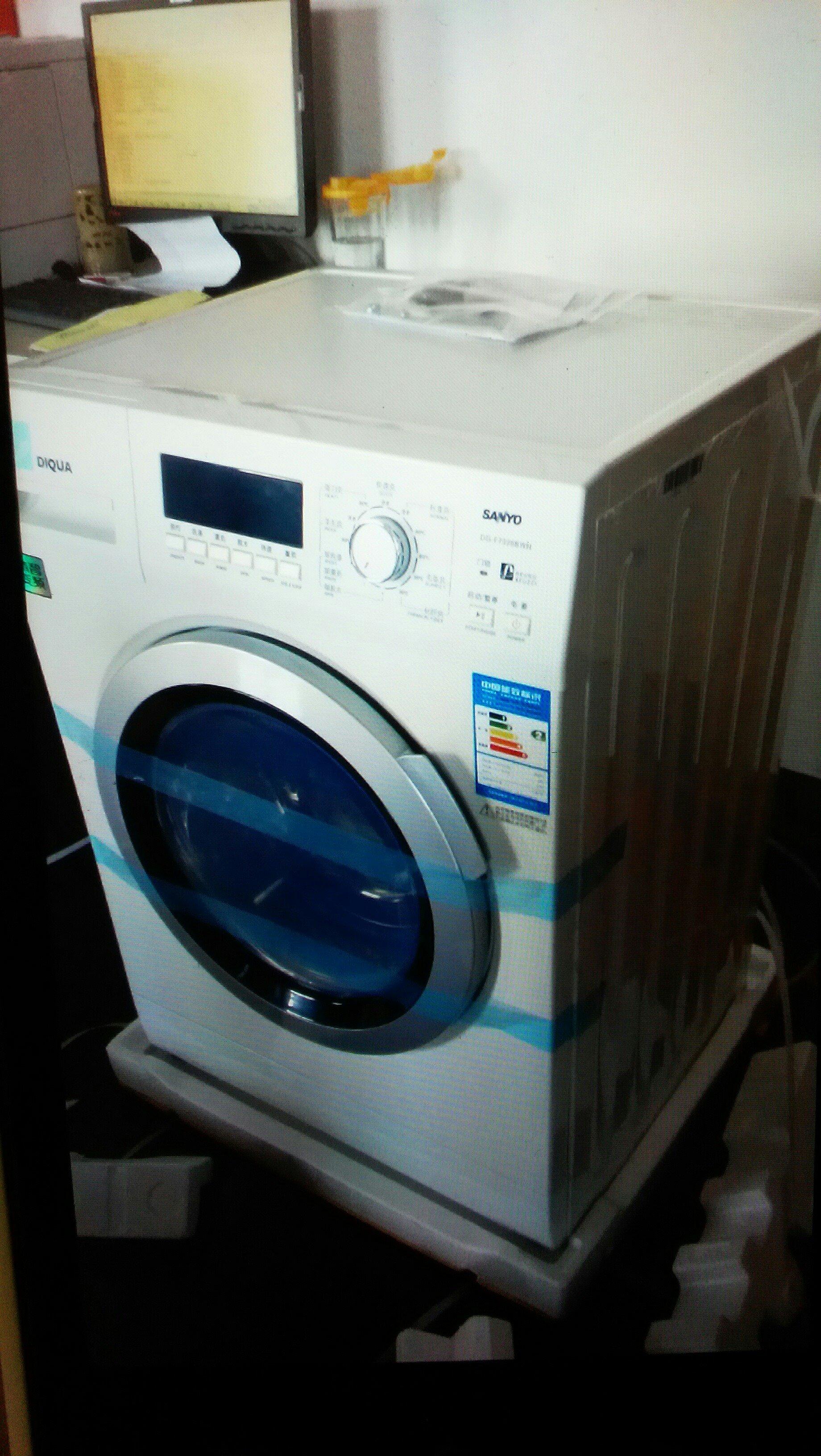 二手三洋滚筒洗衣机交易