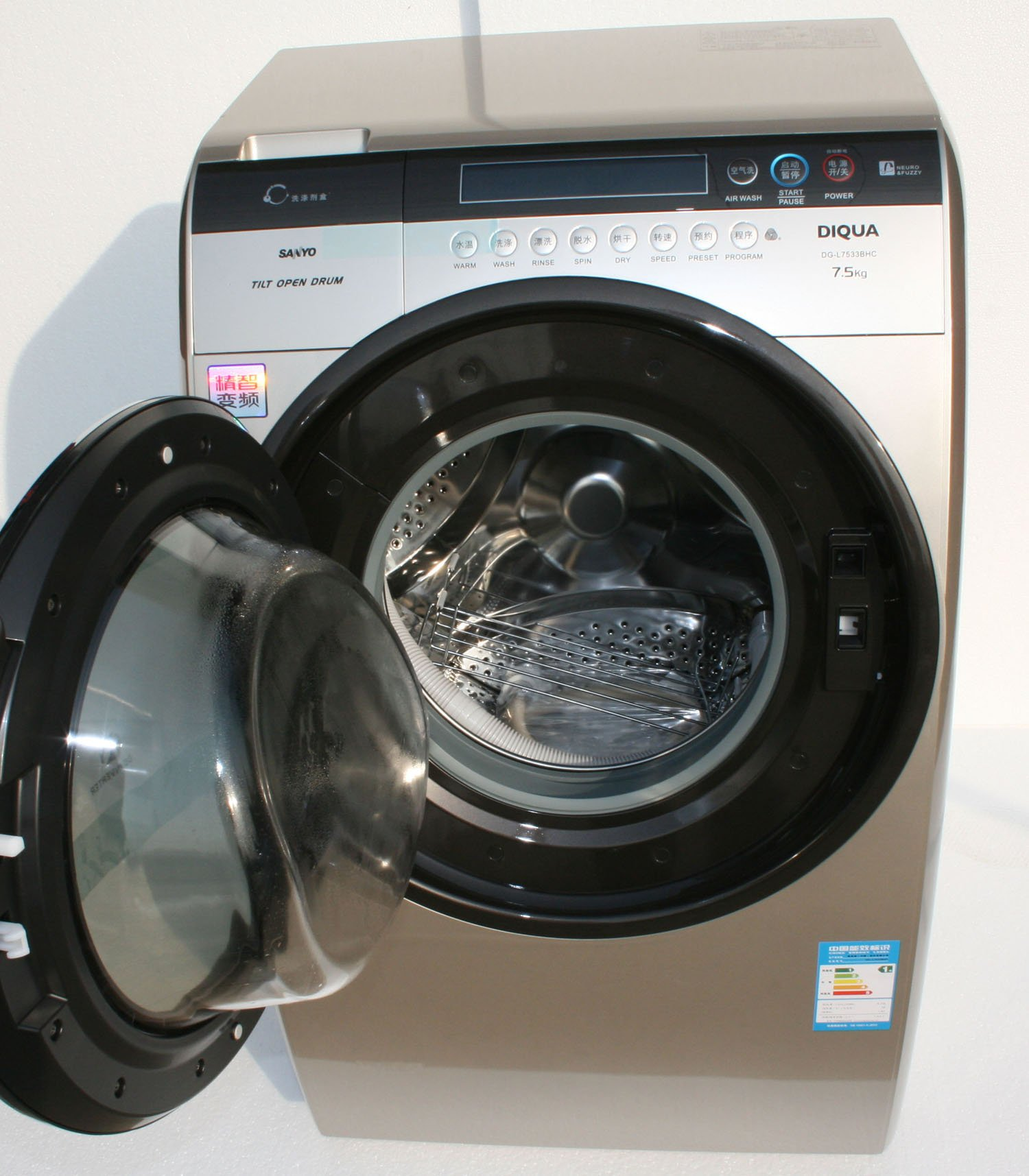 二手三洋全自动滚筒洗衣机交易