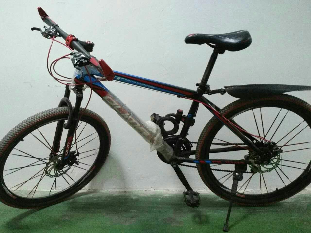 山地自行车都有什么部件,要详细