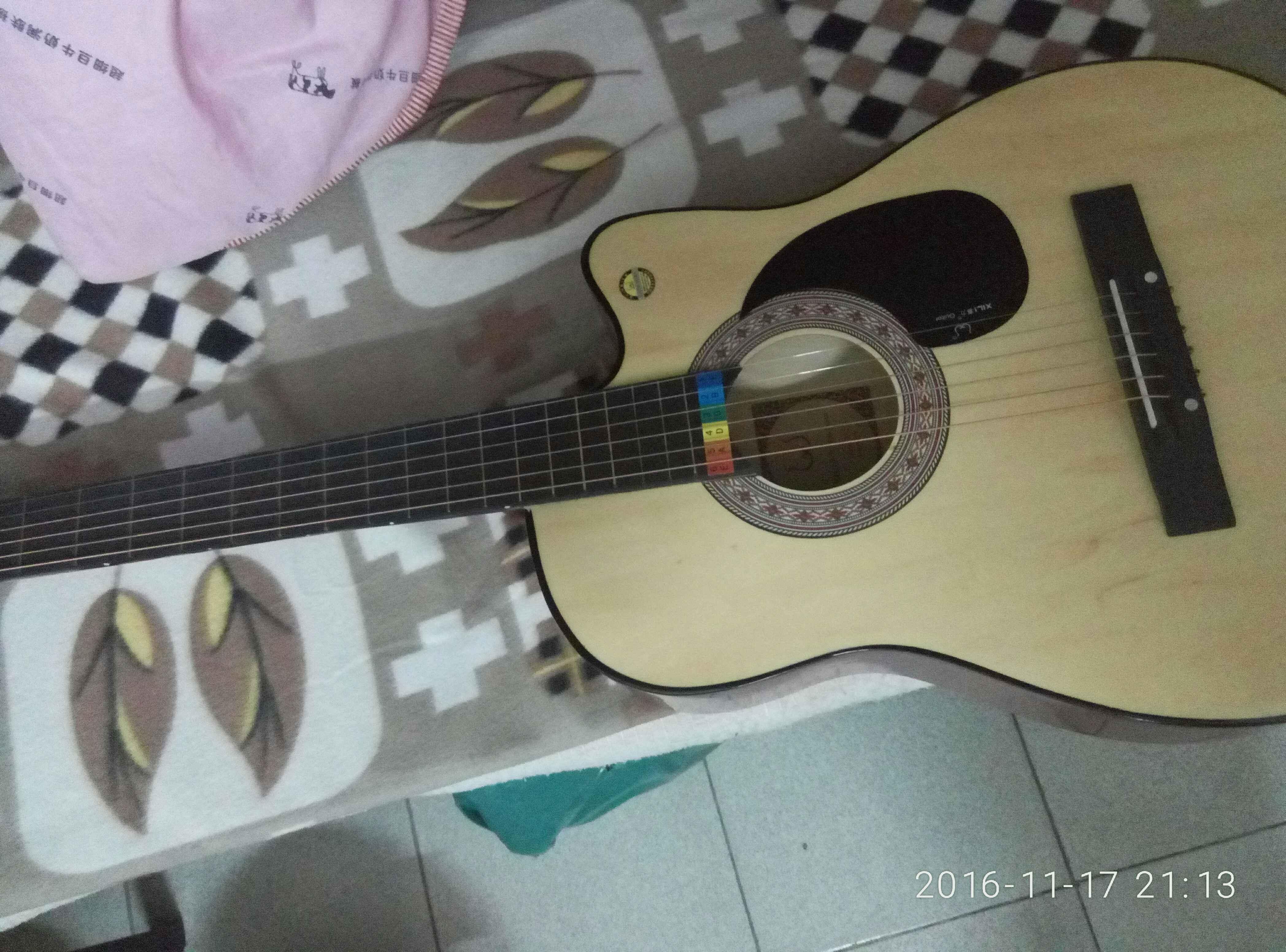 吉他124567位置图解