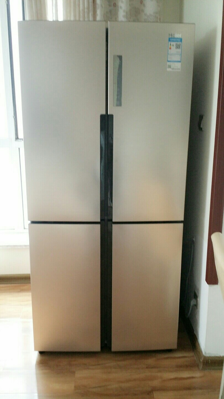 二手海尔冰箱刚买一个多月有发票保修期出售转让_青岛