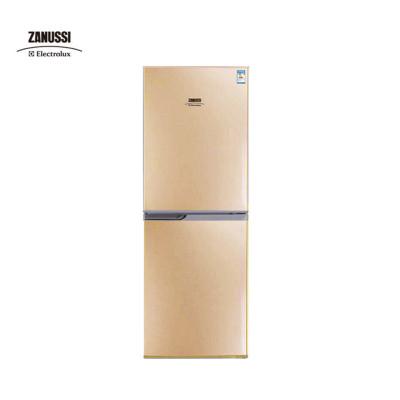 扎努西·伊莱克斯/ZANUSSI ZBM1520HPE 152升双门家用节能冷藏冷冻小冰箱(金色)