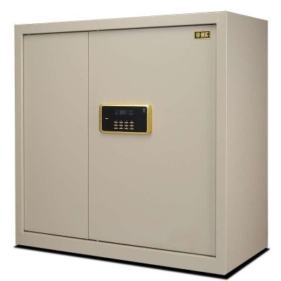 尚汇保险柜办公90CM米高文件柜带锁家用储物资料柜BMG8002B保密柜 (下抽) 电子密码保密柜