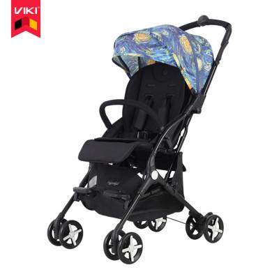 VIKI威凯婴儿推车宝宝胶囊车可坐可躺轻便折叠伞车可上飞机0-4岁高景观婴儿车S4100
