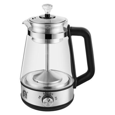 容声蒸汽煮茶器大容量全自动加厚玻璃多功能电热烧水壶普洱安化黑茶养生壶白茶乌龙茶红茶黑色